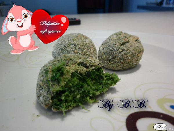 5.Polpettine di spinaci
