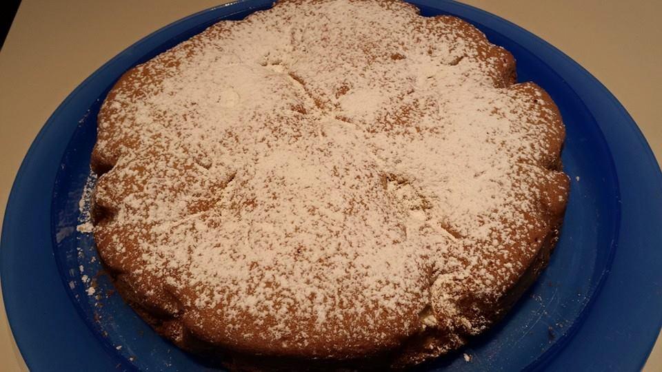 torta morbida alla crema di limone
