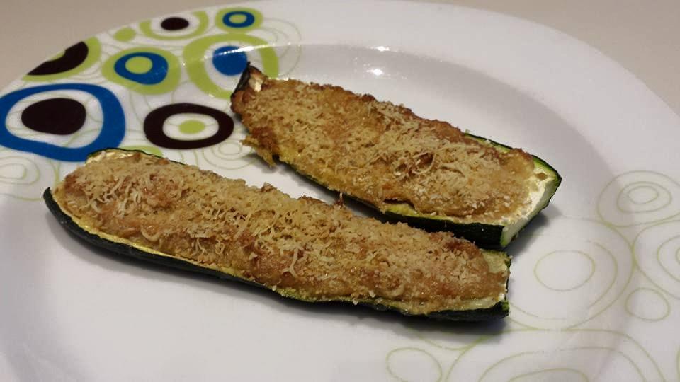 zucchine farcite al tonno